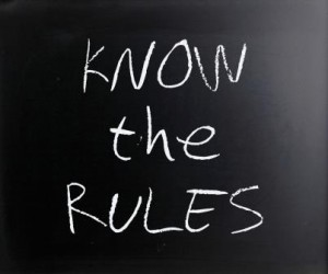 Chalkboard: Know the Rules