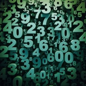 Collage of Numbers