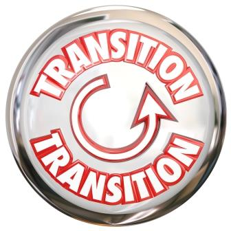 Sign showing circular nature of transitions