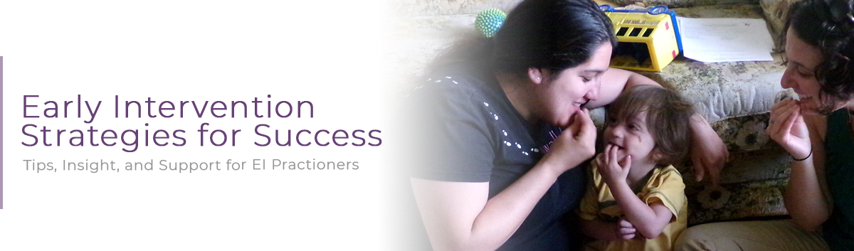 Early Intervention Strategies for Success, Tips, Insight and Support for EI Practitioners